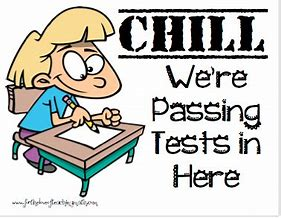 Chill passing test here