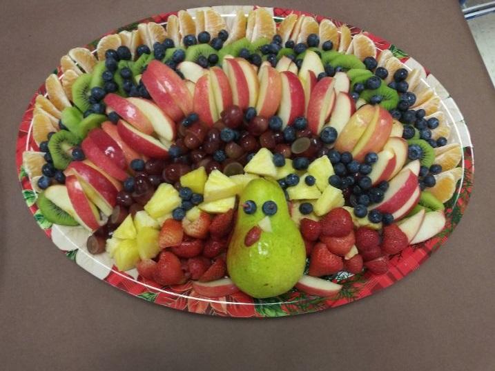 Turkey Fruit Plate.2